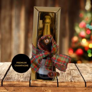 Gold Box Champagne Xmas